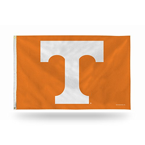 NCAA Rico Industries  3-Foot by 5-Foot Single Sided Banner Flag with Grommets, Tennessee Volunteers