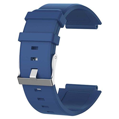 kdjsic Reemplazo de Silicona Correa de muñeca Pulsera Banda de Reloj para Smartwatch 2 SW2