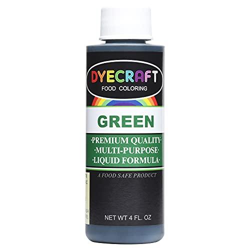 Green Food Coloring