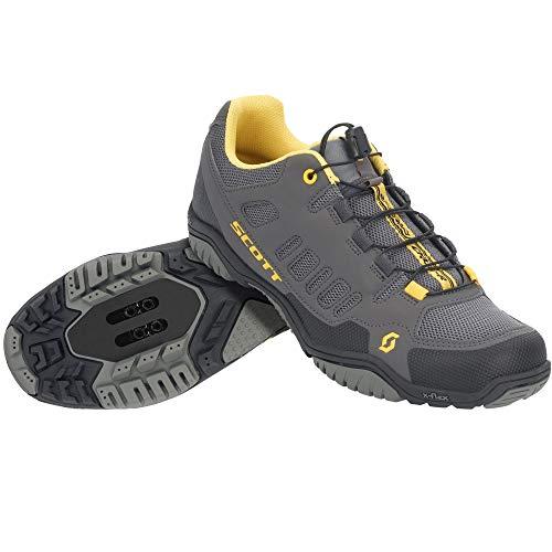 Scott Herren Crus-R Leichtathletik-Schuh, Dark Grey/Yellow, 43 EU