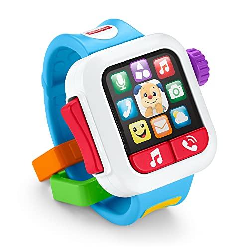 Fisher Price Ríe y Aprende Mi Primer Smartwatch Juguete para bebés de 6 a 36 Meses