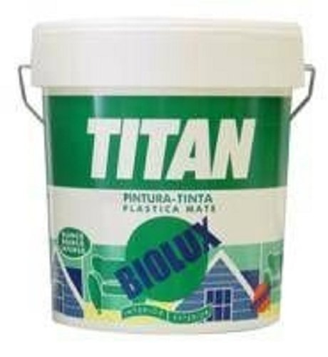 PINTURA PLASTICA EXTERIOR BIOLUX BLANCO MATE 15 L