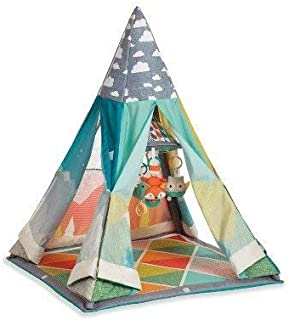 Infantino Go GaGa Infant to Toddler Play Gym & Fun Teepee Multicolored