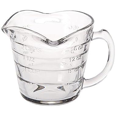 Dozenegg Triple Pour Measuring Cup Glass 16 ounce