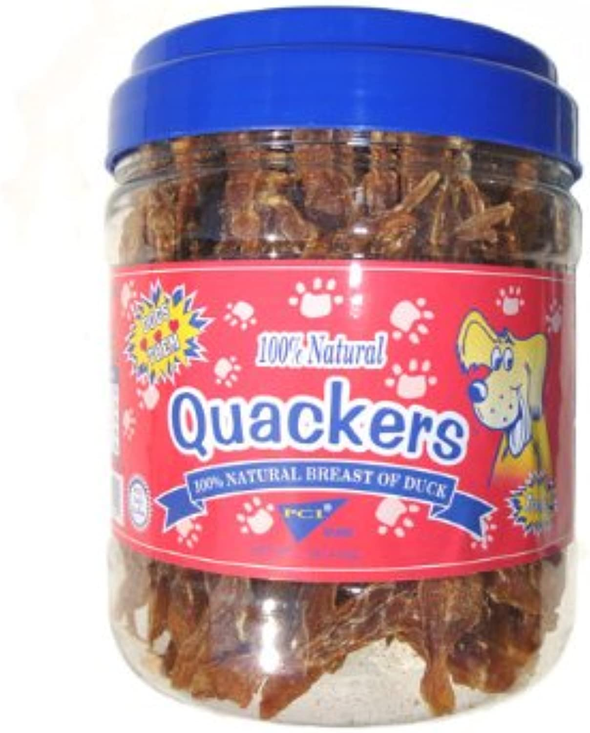 PCI Quackers Duck Tenders, 4 1lb. Containers