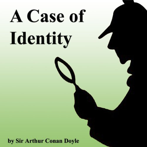 A Case of Identity  audiobook cover art