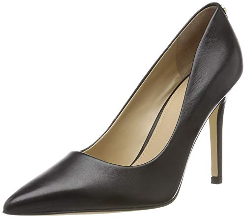 Guess Damen Blix11/decollete (Pump)/Leathe Pumps, Schwarz Black, 37 EU