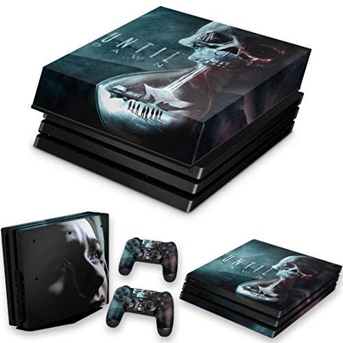 Capa Anti Poeira e Skin para PS4 Pro - Until Dawn