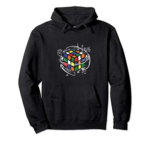 Colorful Cube Math Pullover Hoodie