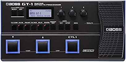 BOSS Guitar Effects Processor, Black (GT-1)