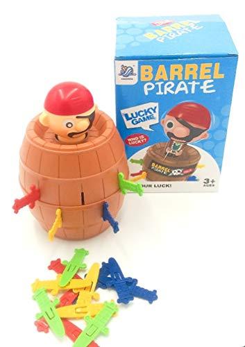 Barril del Pirata y de la Daga del Juego, ¿Quién es el Afortunado? 1-4 Jugadores, Edades 3+