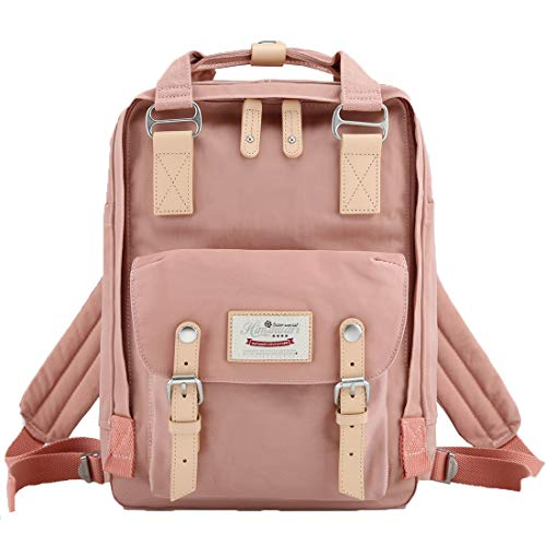 Himawari School Waterproof Backpack 14.9' College Vintage Travel Bag for Women,14 inch Laptop for Student(HIM-23#)