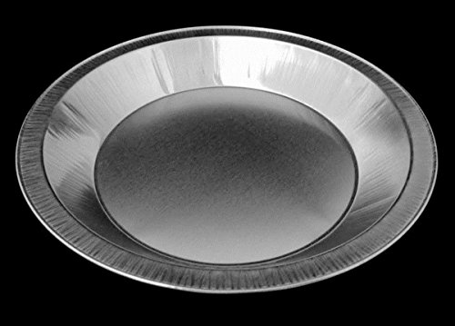 Handi-Foil Smooth-Wall Aluminum Pie Pan Plate Tin -Heavy Duty (Pack of 50)
