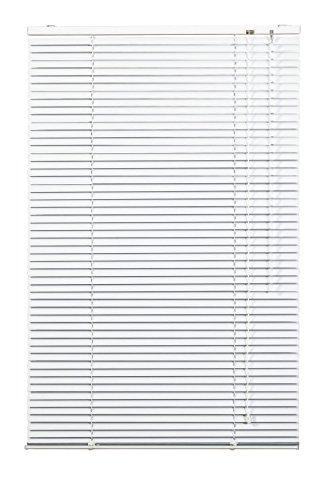 Lichtblick Jalousie Aluminium, 60 cm x 220 cm (B x L) in Weiß, Sonnen- & Sichtschutz, Aber auch Verdunkelungs-Rollo, für Fenster & Türen