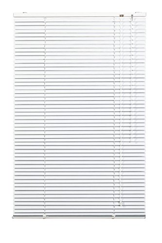 Lichtblick AJ.060.220.01 Jalousie Aluminium Weiß, 60 cm x 220 cm (B x L)