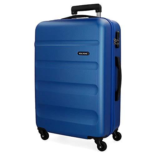 Roll Road Flex Valigia 75 centimeters 91 Blu (Azul)