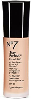No7 Stay Perfect Foundation 30ml - Calico