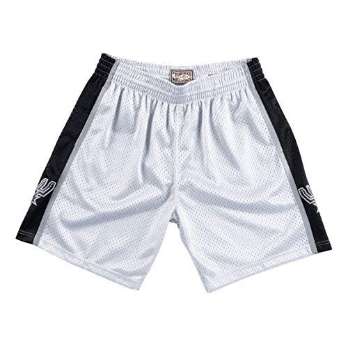 Mitchell & Ness Short San Antonio Spurs Platinum