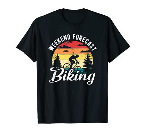 Pronóstico de fin de semana Ciclismo Downhill Ciclismo Bicicleta de montaña Camiseta