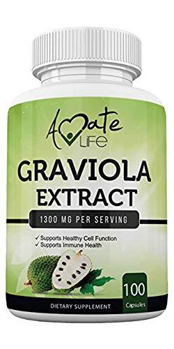 Graviola Extract Capsules (100 Capsules / 1300...