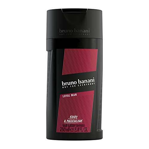 bruno banani Loyal Man – Shower Gel – Frisch-fruchtiges Herren Duschgel – Maximal langanhaltender Duft – 4 x 250ml