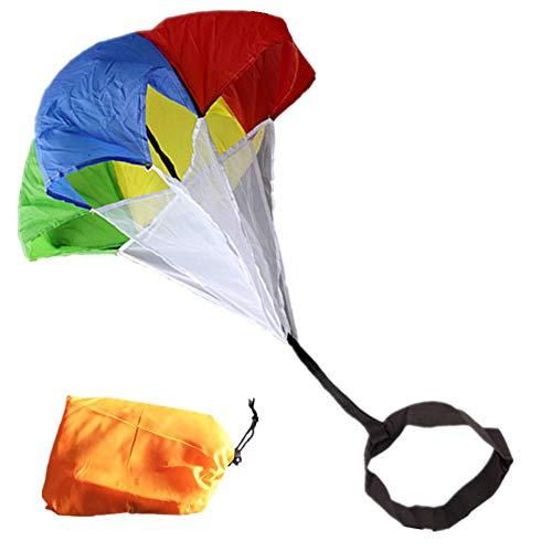 N\A Speed-Widerstandstraining, Fallschirm-Ausrüstung, Sprint-Fallschirme, Widerstandstraining-Werkzeug für Kinder, Teenager, Erwachsene