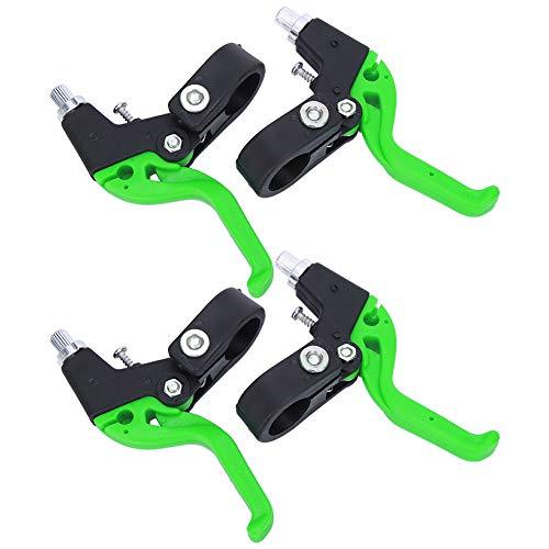 BMX Bremshebel 2 Paar Verstellbarer Fahrradbremshebel Kinder Nylon-Fahrradbremsgriff Für 22.2 mm Lenkerdurchmesser