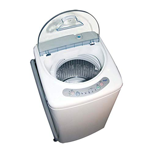 Haier America 1 cu ft Portable Washing Machine with Stainless Tub, Electronic Controls