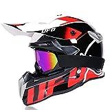 DLMYZ Men And Women Motorbike Helmets Dual Sport Off Motocross Helmets Adult Locomotive