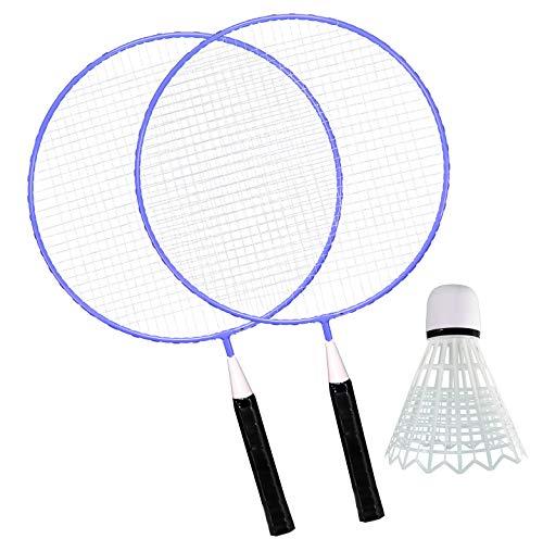Best Sporting Jumbo Kinder-Badminton-Set mit 2 x Schläger und 1 x Ball, blau