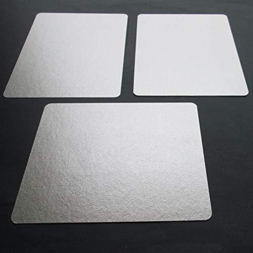 12pcs 12 * 15cm Mica Platten Ersatzteile Eindickung Mikrowellen-Ofen Blätter for Galanz for Midea for Panasonic for LG Etc Magnetron Cap
