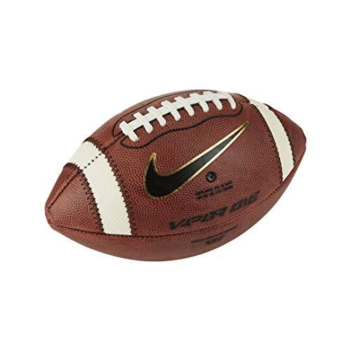 Nike Vapor One Official Senior Leder American Football, Spielball Größe 9