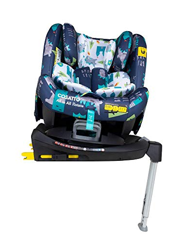 Cosatto All in All Rotate Baby to Child Car Seat - Group 0+123, 0-36 kg, 0-12years, ISOFIX, ERF, Anti-Escape (Dragon Kingdom)