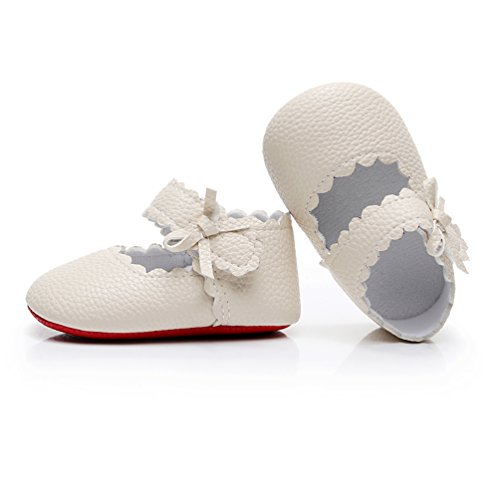 Off White Infant Shoes