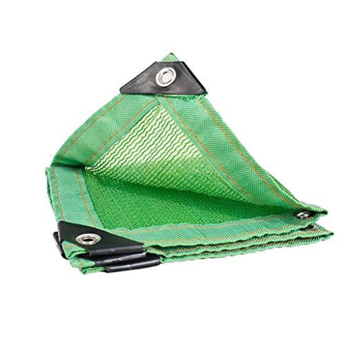 XUEYAN Parasole Rete, Protezione Solare Antipolvere Anti-Età, Tetto Da Giardino Protezione Solare Rete 6 Ago (Colore : Green, Dimensioni : 6X8M)