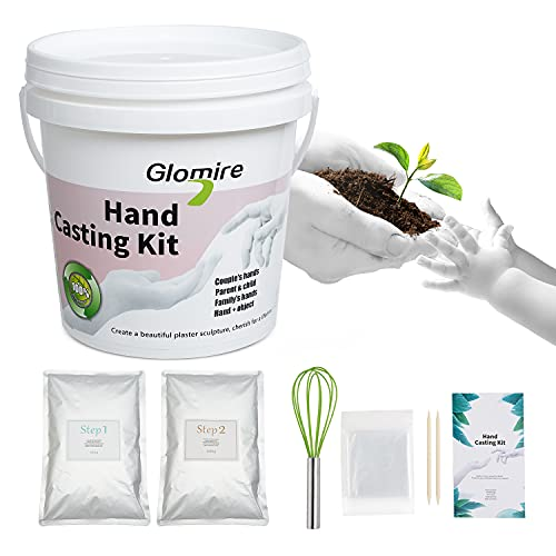 3D Hand Casting Kit | Holding Craft for Couples, Adult & Child, Family, Friend | Hand Hold Casting Kit for Holiday Activities Ideal Gifts