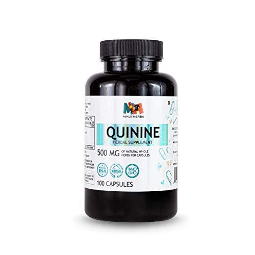 Quinine Capsules, 500 mg, Quinine Bark (Cinchona officinalis) (100 Capsules)