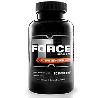 PRO SERIES T-Bar Force Testosterone Booster & Nitro X Muscle Growth Supplement by ProSeries