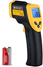 Etekcity Infrared Thermometer 774 (Not for Human) Temperature Gun Non-Contact Digital Laser Thermometer-58℉~ 716℉ (-50℃ ~ 380℃), Standard Size, Black