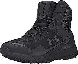 Under Armour Men's Valsetz RTS Military and Tactical Boot, Black (001)/Black, 11