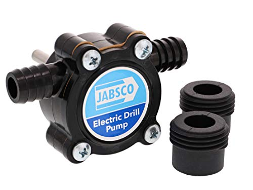 Jabsco 17250-0003, Self Priming Electric Drill Pump