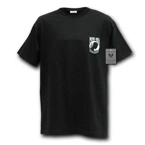 Rapiddominance T-Shirt Militaire POW*MIA L Noir