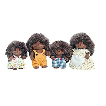 Calico Critters Pickleweeds Hedgehog Family Dolls Dollhouse Figures Collectible Toys