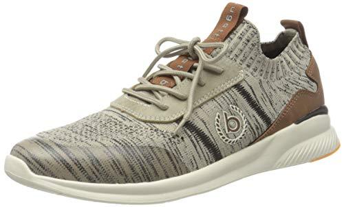 bugatti Herren 341A39616900 Sneaker, Beige, 43 EU