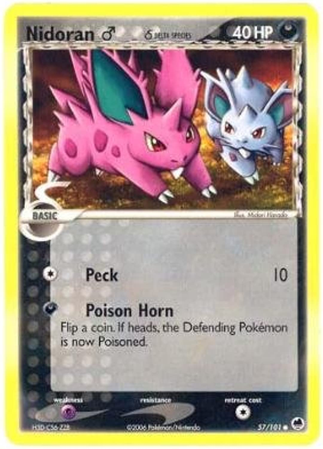 Nidoran (M) - Dragon Frontiers - 57 [Toy]