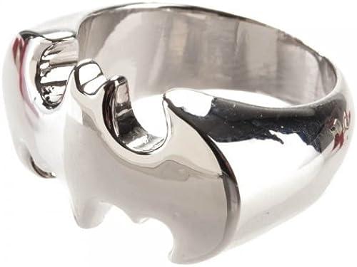 Batman Silber Bat Logo Ring - Small by Animewild