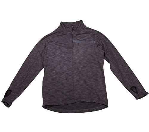 Chiemsee Fleece mit reflektierenden Loops Veste Polaire, Noir Profond, XL Homme