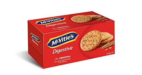 McVitie's Digestive Original - der klassische Weizenkeks für unterwegs, 1er Pack (1 x 176 g)