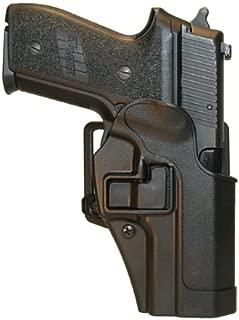 Blackhawk Serpa CQC Belt & Paddle Combination Holster, Right Hand - Fits: Glock 42 - 410567BK-R