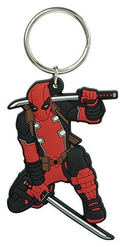 Marvel Deadpool Soft Touch PVC Schlüsselanhänger Schlüsselzubehör